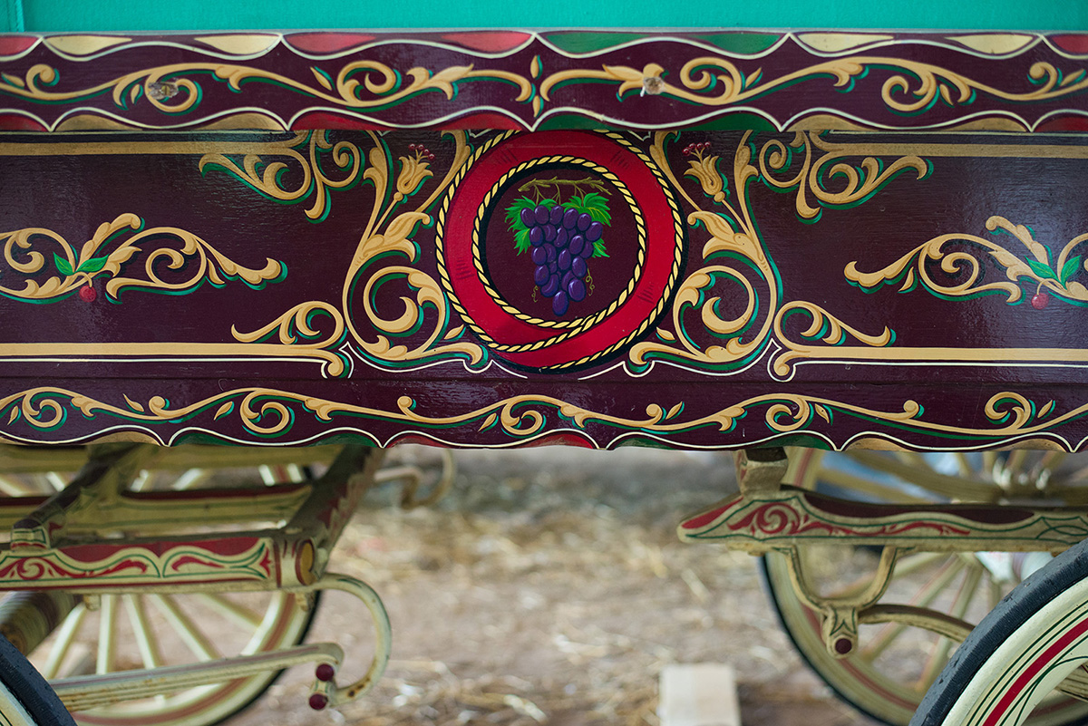 Restoring A Gypsy Caravan Steve Blackwell Signs And