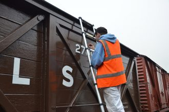 Swanage Railway signwriting