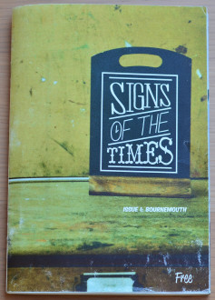 Signs of the Times magazine cover