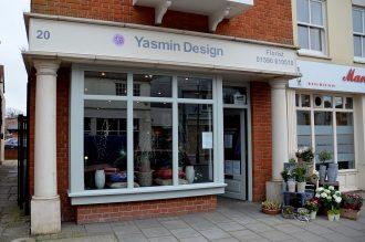 Yasmin Design - shop front