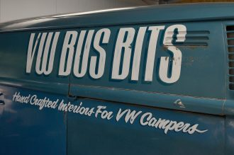 Volkswagen Signwriting 1978 Panel Van