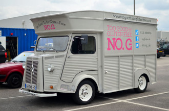 Citroen H-van - food van signwriting
