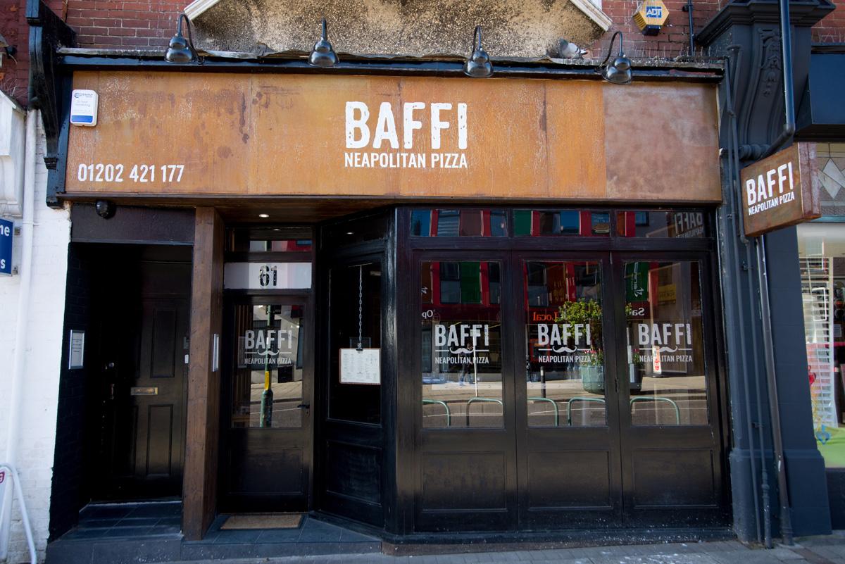 Baffi neapolitan pizza restaurant sign steve for Pizza restaurants