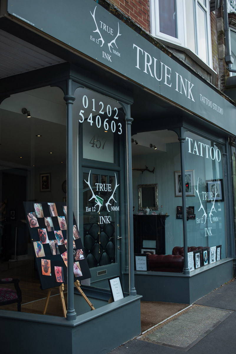 True Ink Tattoo Studio Poole Steve Blackwell Signs And