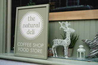 The Natural Deli – Hampshire Signwriting and Decorating