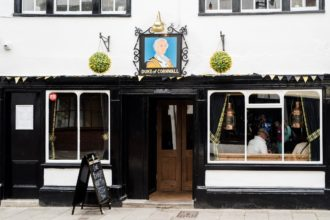 Weymouth Pub Signwriting - The Duke Of Cornwall
