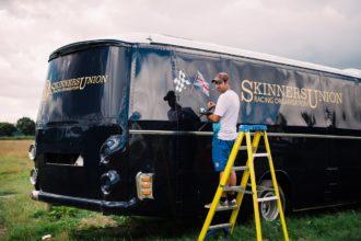 Vintage Bus Signwriting