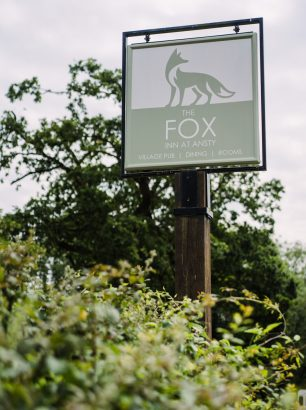 The Fox Inn - pub sign restoration