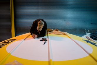 Powerboat Signwriting- Kiekhaefer Aeromarine 3